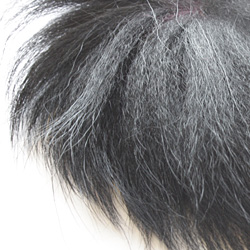 Lakeland Silver Fox Tail, Dyed Black