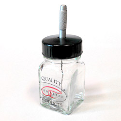 Renzetti Applicator Jar with Polyseal lid and Needle