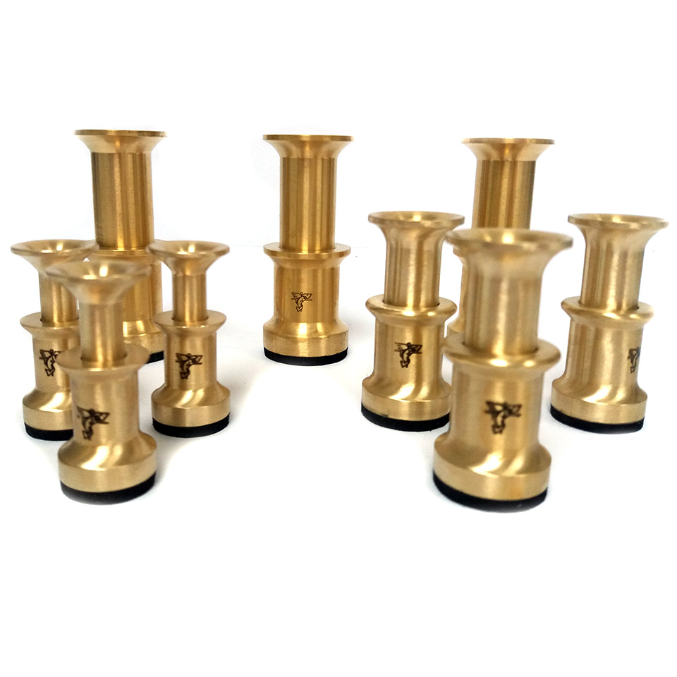 Dr Slick Small Brass Hair Stacker Fly Tying