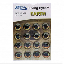 Fish-Skull Living Eyes Earth