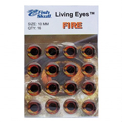 Fish-Skull Living Eyes Fire