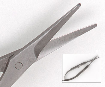 Renzetti Serrated Scissors HT317
